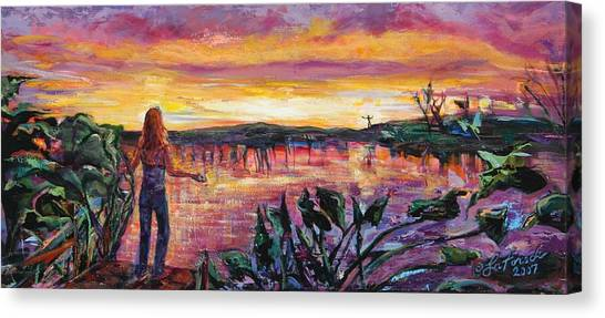 And Then She Was Gone Canvas Print by Susi LaForsch