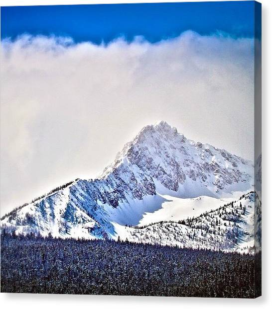 Idaho Canvas Print - And, While We're On That #tbt Game by Cody Haskell