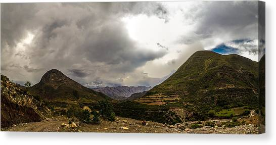 Andean Hills Canvas Print