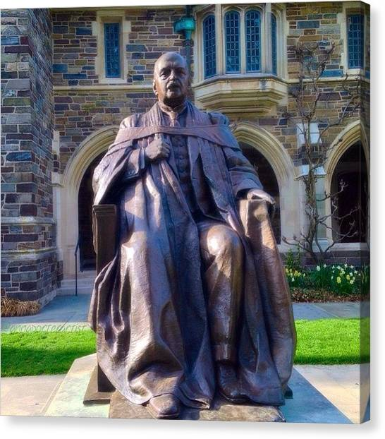 Princeton University Canvas Print - Andrew Fleming West, Class Of 1874 by Anna Porter