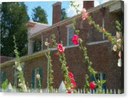 Andrew Jackson Home Canvas Print