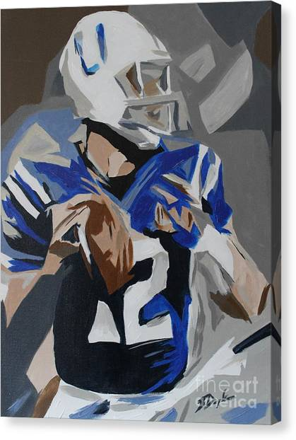 Andrew Luck 2013 Canvas Print