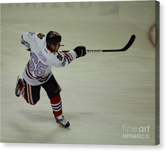 Andrew Shaw Fights Cancer Canvas Print