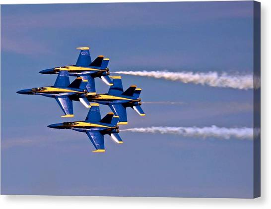 Andrews J B Air Show 11 Canvas Print