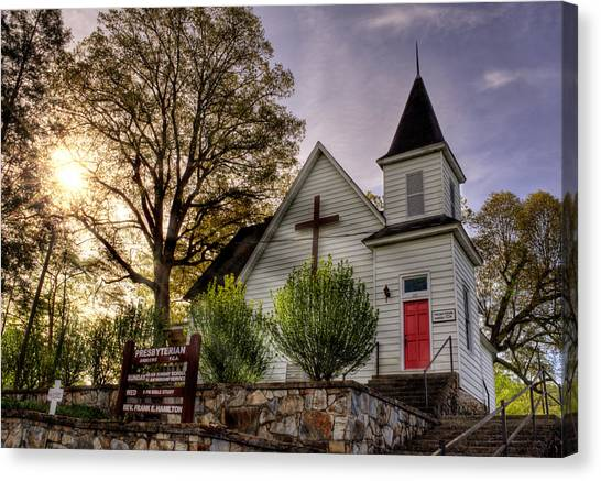 Andrews Presbyterian Church Canvas Print