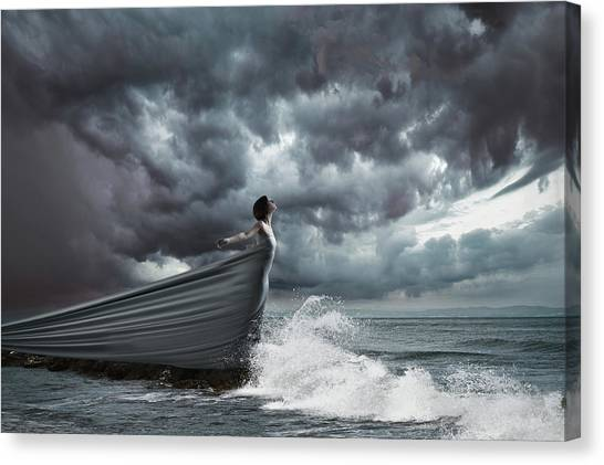 Thunderstorms Canvas Print - Andromeda by Patrick Odorizzi
