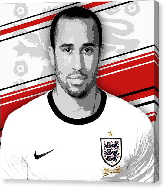 World Cup Canvas Print - Andros Townsend England Print by Pro Prints