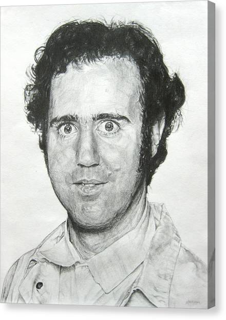 Jim Carrey Canvas Print - Andy Kaufman by Michael Morgan