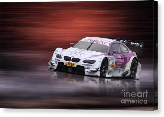 Andy Priaulx M3 Dtm 2012 Canvas Print