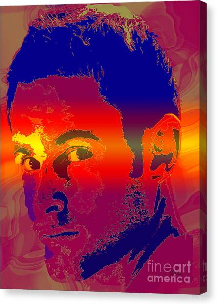Andy Roddick Canvas Print - Andy Roddick  by Dalon Ryan