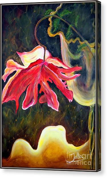 Anemone Me Canvas Print