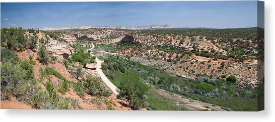 Angel Canyon Utah Canvas Print