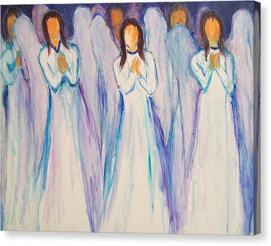 Angel Choir Canvas Print