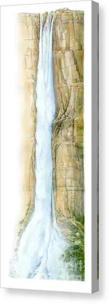 Angel Falls Canvas Print - Angel Falls, Artwork by Gary Hincks