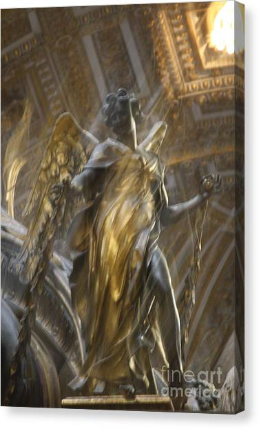 Angel In Motion Canvas Print