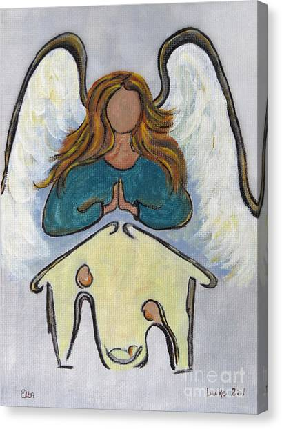 Angel - Messenger Of Joy Canvas Print