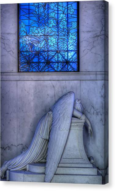 Angel Of Grief New Orleans 1 Canvas Print