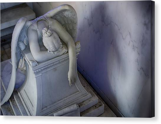 Angel Of Grief New Orleans 4 Canvas Print