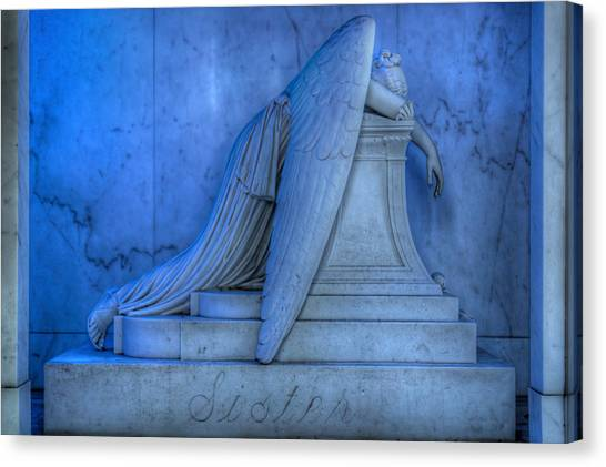 Angel Of Grief New Orleans 5 Canvas Print