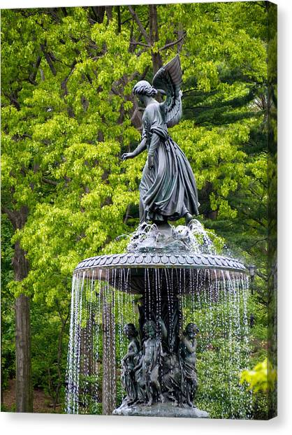 Angel Of The Waters Canvas Print