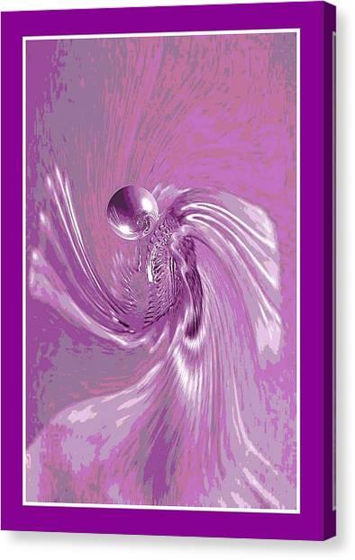 Angel Prayer Canvas Print