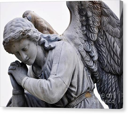 Angel Praying 2 Canvas Print