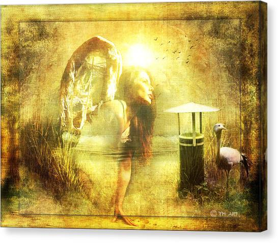 Angel Spirit Canvas Print