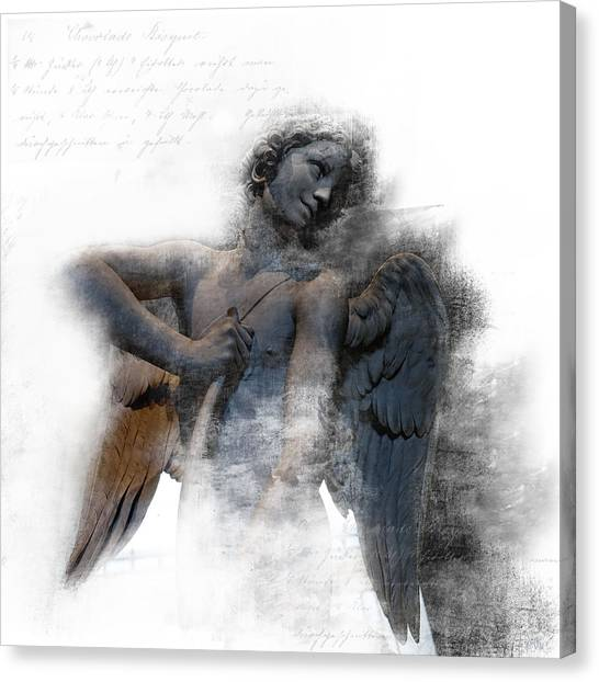 Angel Warrior Canvas Print