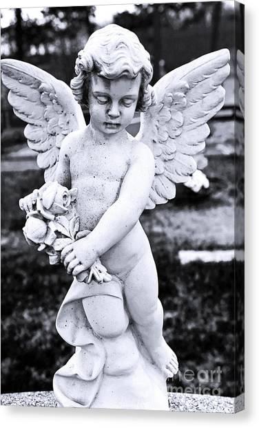 Angel Wings Canvas Print by John Rizzuto