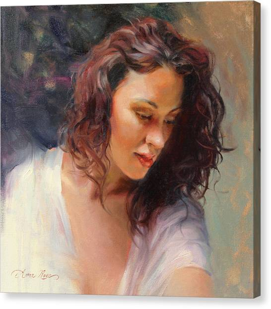 Redheads Canvas Print - Angelic by Anna Rose Bain