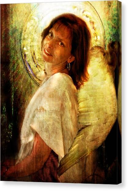 Angelic Repose  Canvas Print