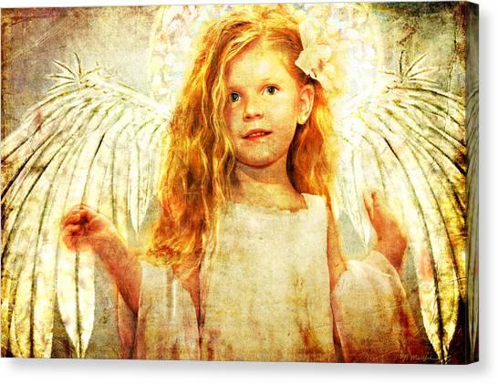 Angelic Wonder Canvas Print