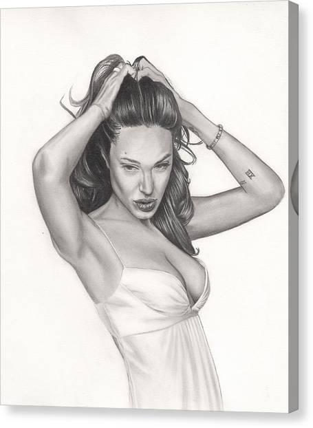 Angelina Canvas Print