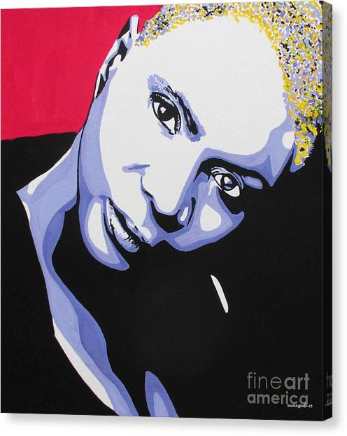 Angelique Kidjo Canvas Print