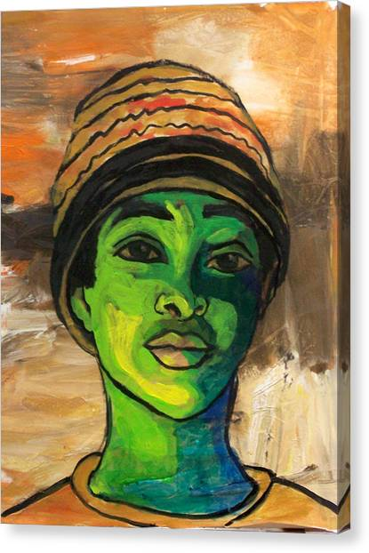Canvas Print - Angelique by MtnWoman Silver