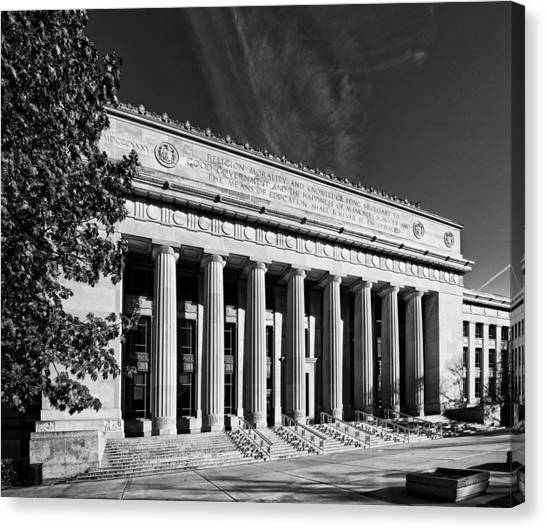 Angell Hall - University Of Michigan Canvas Print