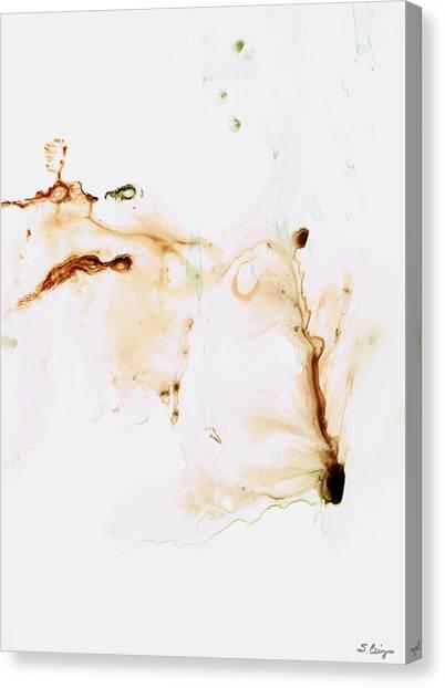 Karma Canvas Print - Angel's Breath Spiritual Art by Sharon Cummings
