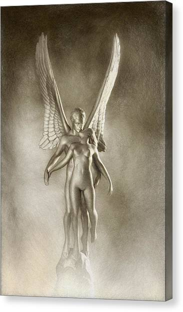 Canvas Print - Angel's Kiss by Ron Morecraft