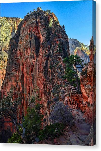 Utah Canvas Print - Angel's Landing by Chad Dutson