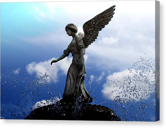 Angel's Love Canvas Print