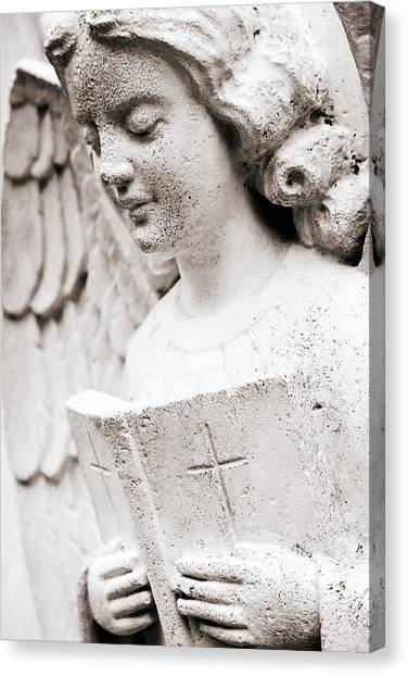 Angels Prayers And Miracles Canvas Print