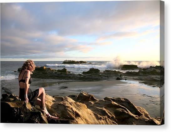 Angels- Vina On The Rocks Canvas Print
