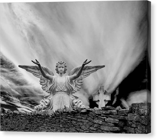 Angels Welcome Canvas Print