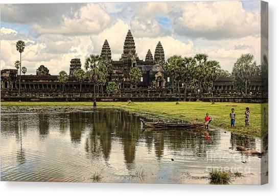 Angkor Wat I Canvas Print