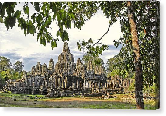 Angkor Wat No. 1 Canvas Print by Harold Bonacquist