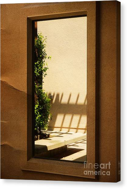 Angled Reflections2 Canvas Print