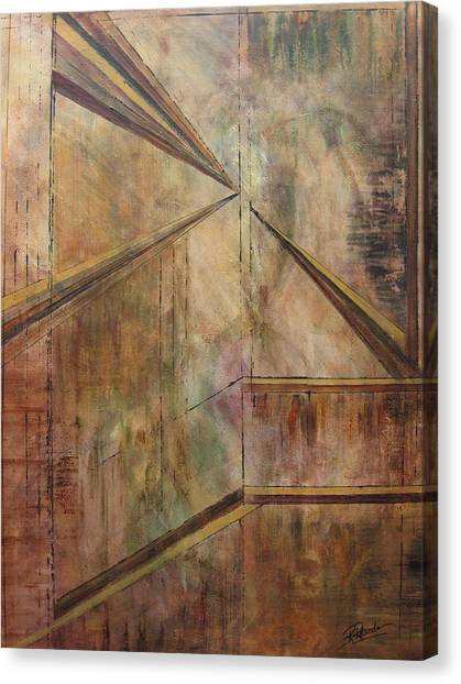 Angles Of Enlightenment Canvas Print