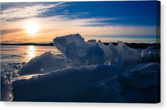 Angostura Ice Canvas Print