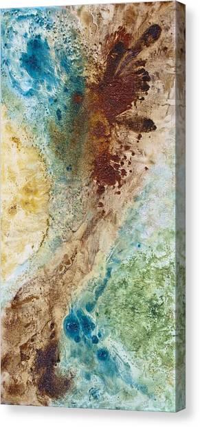 Lyrical Abstraction Canvas Print - Yin's Kinaalda by Sora Neva