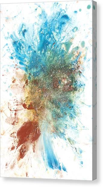 Lyrical Abstraction Canvas Print - Yang's Walkabout by Sora Neva